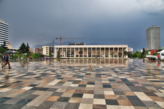 Tirana ist die hauptstadt von albanien