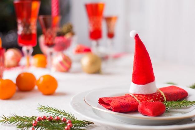 Tisch für heiligabend