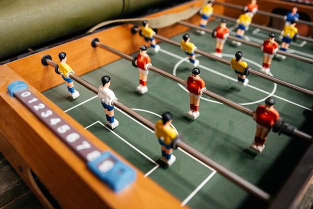 Tischfußball fußballspiel