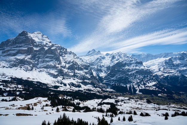 Titlis berg im sommer, die schweiz