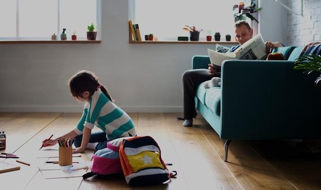 Tochter verbringen zeit glück urlaub learnig