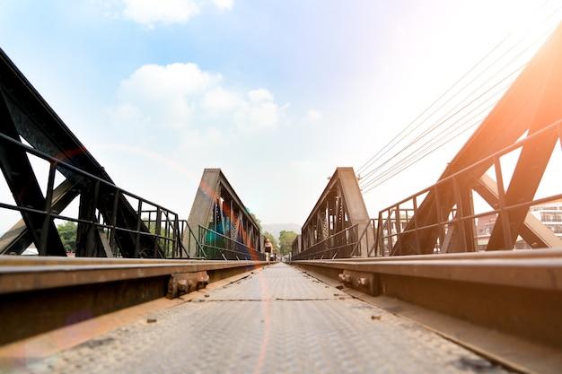 Todeseisenbahnbraut, historisch von world warii, fluss kwai, kanchanaburi, thailand