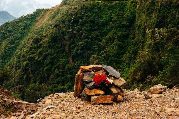 Todesstraße in bolivien