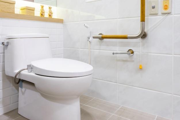 Toilette für senioren und behinderte