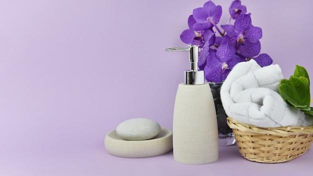 Toilettenartikel-set für hotelservice, kosmetikprodukte