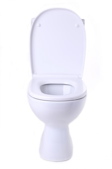 Toilettenschüssel isoliert