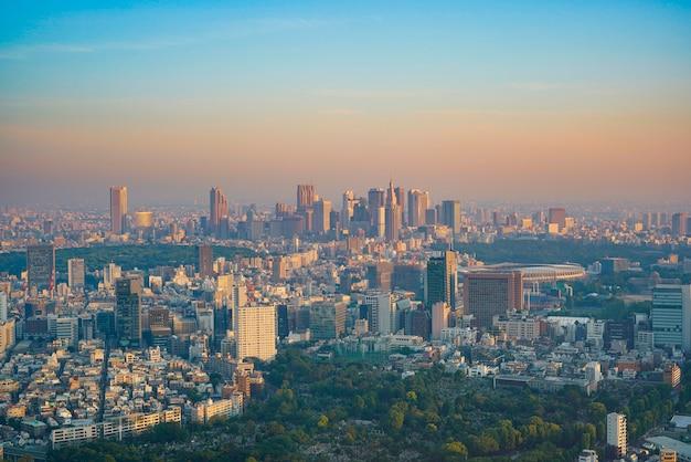 Tokio abendansicht