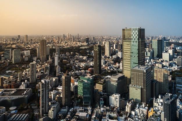 Tokio-stadt, japan