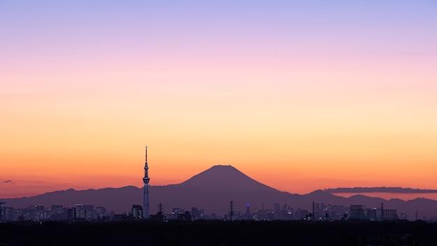 Tokio und fuji