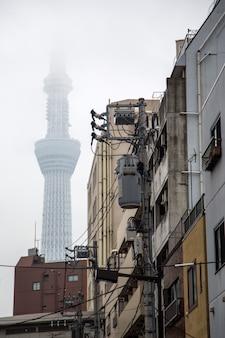 Tokyo skytree in tokio, japan