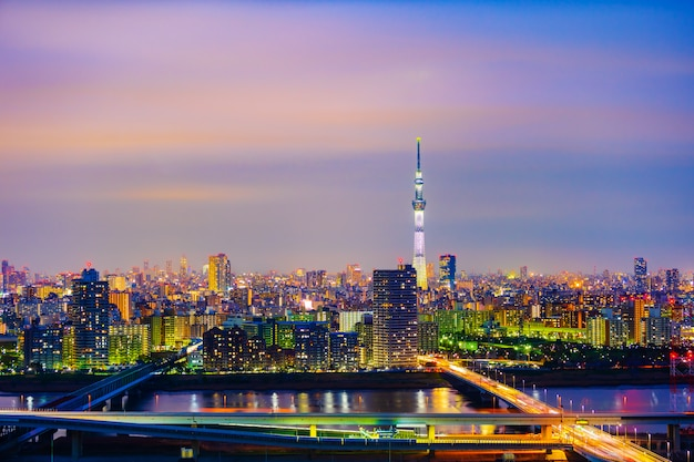 Tokyo-stadtbild, japan