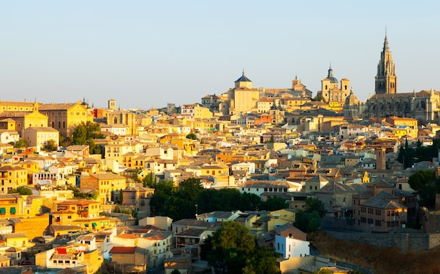 Toledo in sonnigem morgen