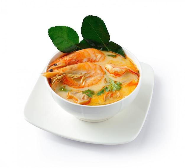 Tom yam kung suppe (thailändische küche)