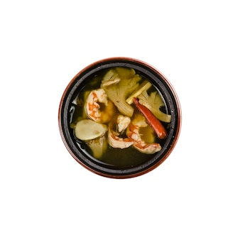 Tom yum soup, thailändisches essen