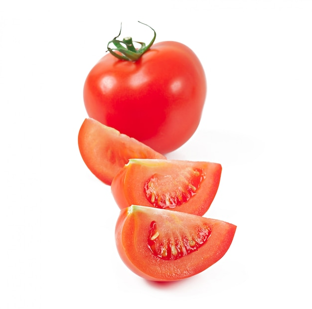 Tomate isoliert