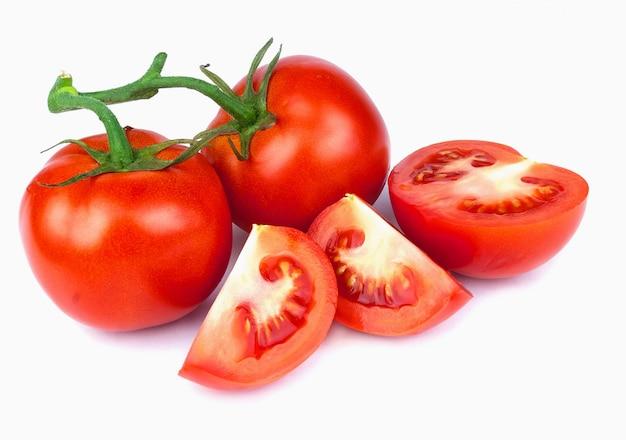 Tomaten isoliert