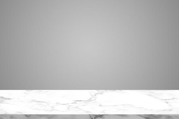 Top marmor textur auf grauem wandhintergrund