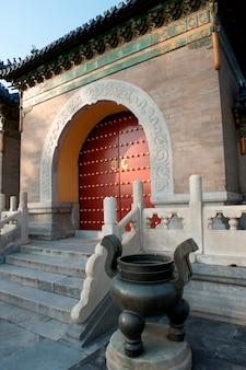 Tor am himmelstempel, peking, china