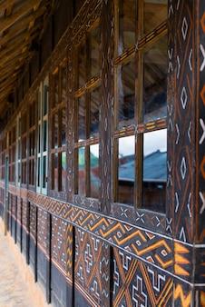 Toraja dekoration in sulawesi indonesien