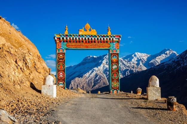 Tore von ki gompa spiti valley himachal pradesh