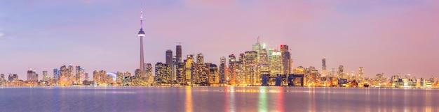 Toronto skyline panorama