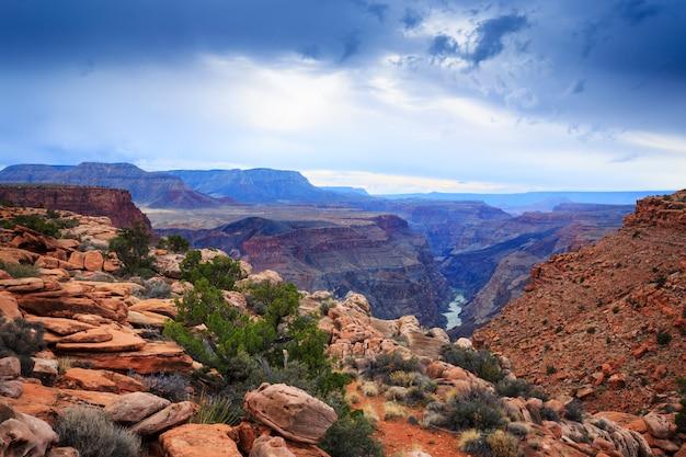 Toroweap landschaft grand canyon