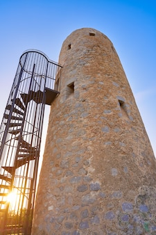 Torre la corda turm von oropesa de mar
