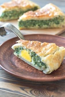 Torta pascualina - spinat und ricotta-torte