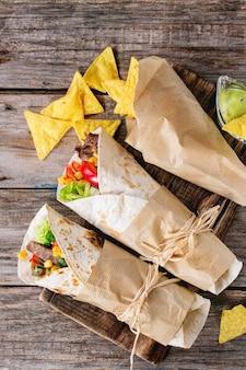 Tortillas und nachos