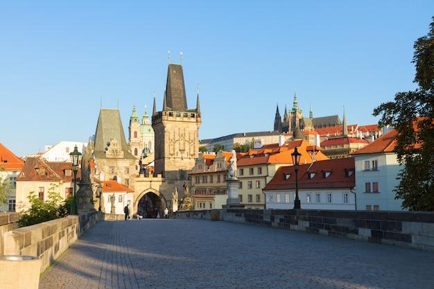 Torturm der karlsbrücke, prag, tschechische republik