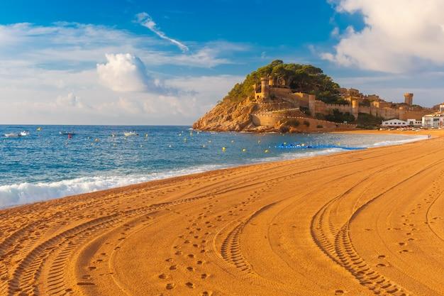 Tossa de mar an der costa brava, katalonien, spanien