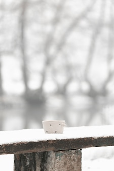Totale tasse tee im winter