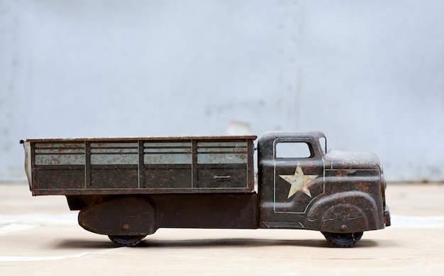 Toy army truck