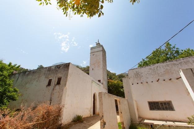 Traditionell marokkanische arabische moschee