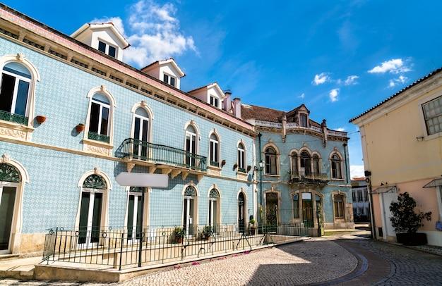Traditionelle architektur in alcobaca - region oeste in portugal