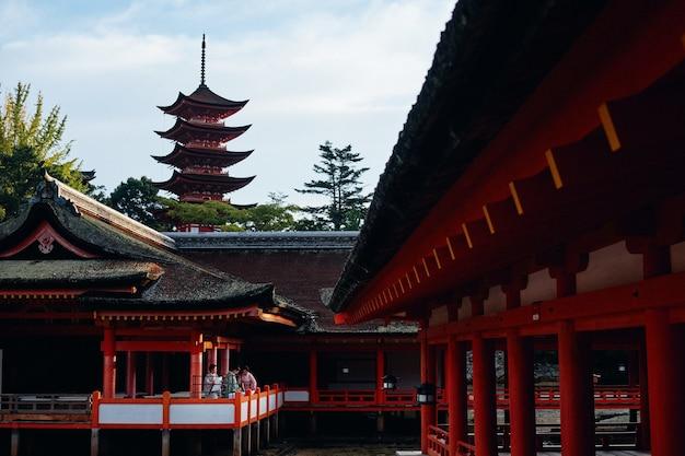 Traditionelle asiatische architektur