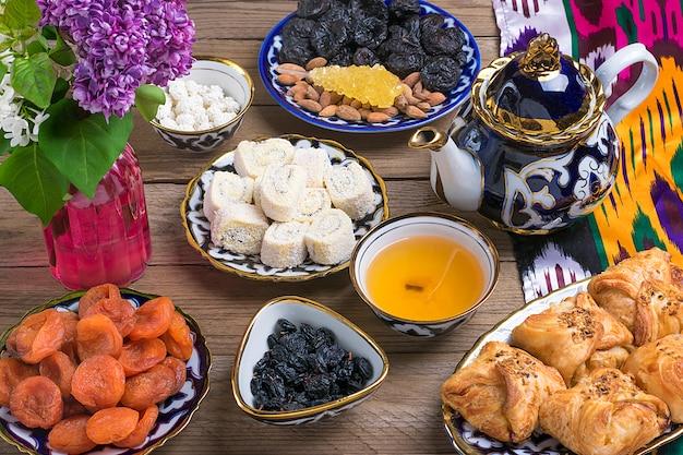 Traditionelle asiatische süßigkeiten