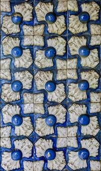 Traditionelle dekorative fliesen aus sintra, portugal