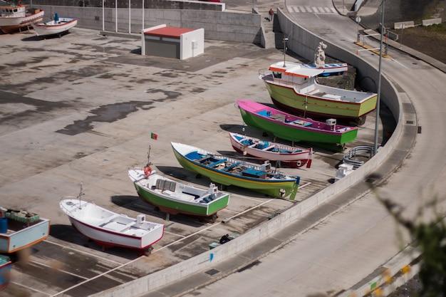 Traditionelle fischerboote