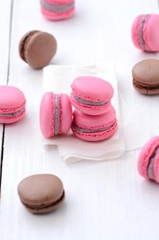 Traditionelle französische macarons