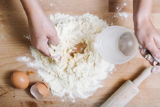 Traditionelle hausgemachte pasta aus