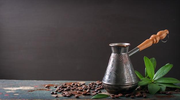Traditionelle objekt für kaffee