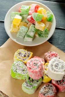 Traditionelle östliche desserts