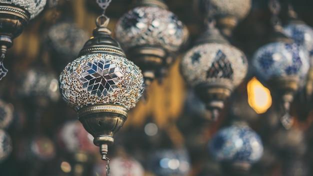Traditionelle türkische lampe