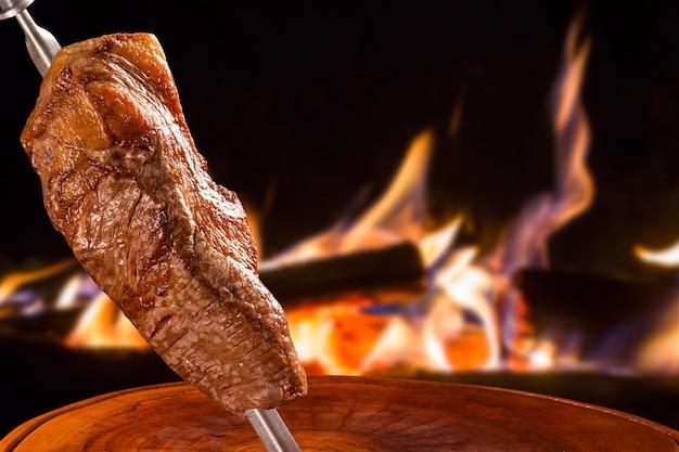 Traditioneller brasilianischer grill