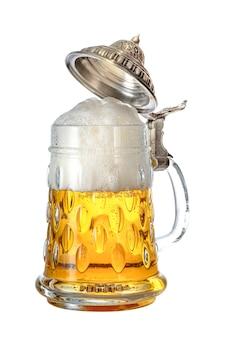 Traditioneller deutscher bierkrug