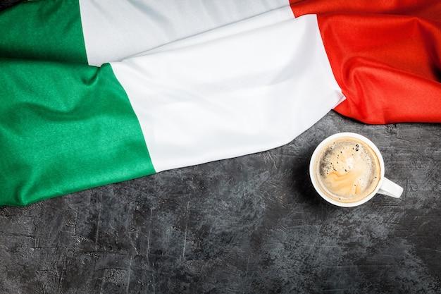 Traditioneller italienischer kaffee