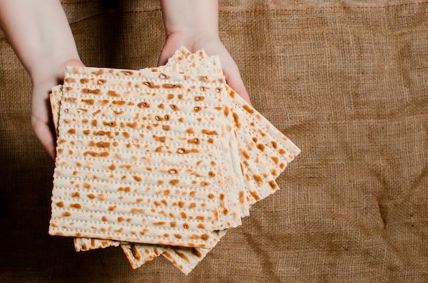 Traditioneller jüdischer feiertag pesach. traditionelles jüdisches fest fo
