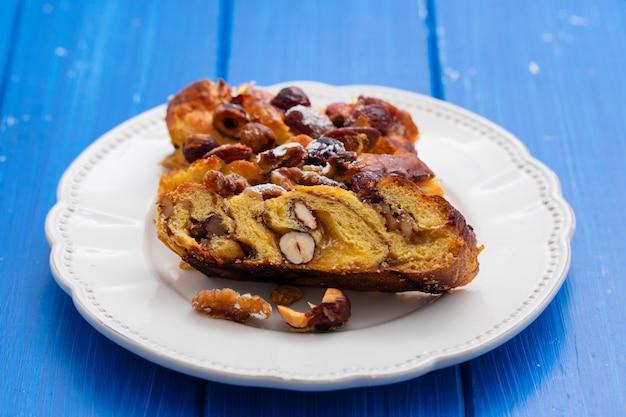 Traditioneller portugiesischer kuchen bolo de rainha