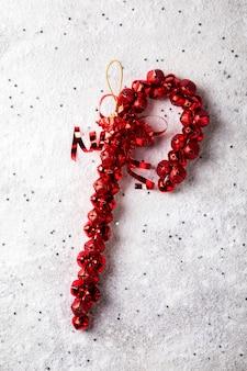 Traditionelles dekor für weihnachten und neujahr
